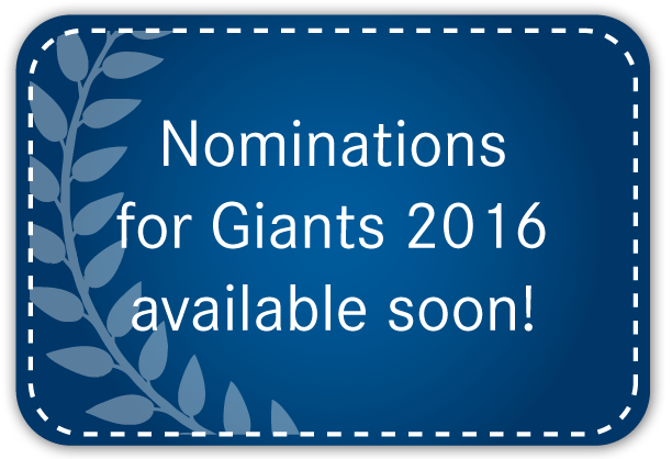 Nominations for Giants 2016 available soon!