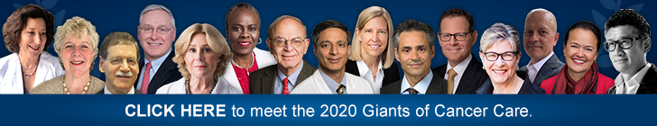 giants of cancer care banner