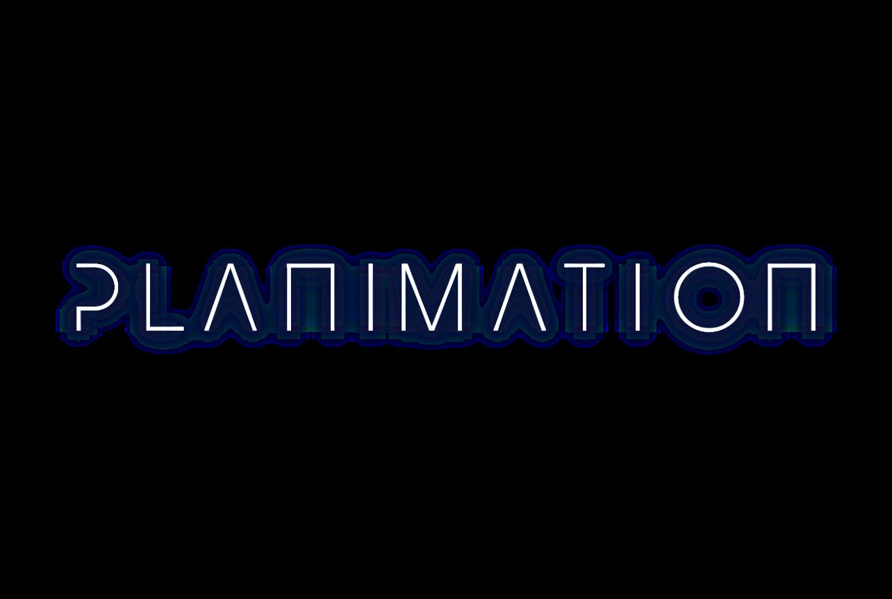 Planimation text