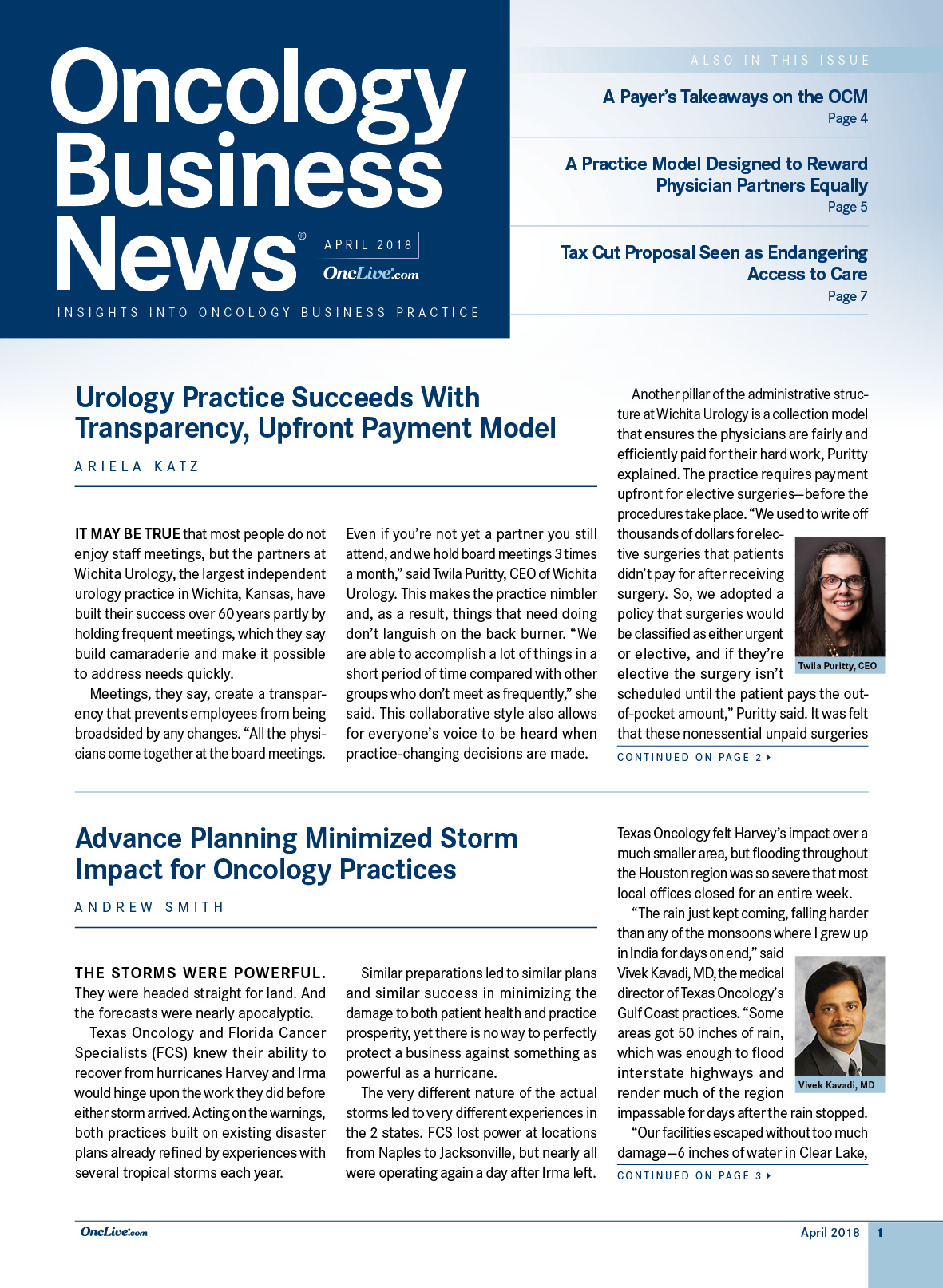 Oncology Business News