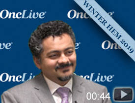 Dr. Usmani Discusses Management of Early Relapse in Myeloma