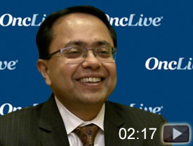 Dr. Agarwal on Frontline Treatment in Kidney Cancer