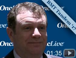 Dr. Scott on Conditioning Regimens for Stem Cell Transplants