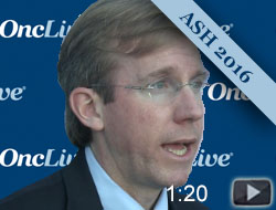 Dr. Burke on a Study Investigating Obinutuzumab in Large B-Cell Lymphoma
