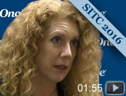 Lisa Butterfield on SITC Immune Biomarkers Task Force