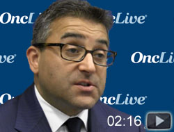 Dr. Chowdhury on Pembrolizumab Plus Pazopanib in RCC