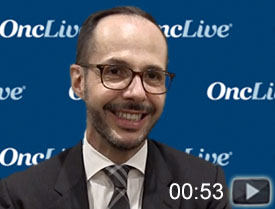 Dr. Villa on Retrospective Data of Bendamustine/Rituximab in MCL