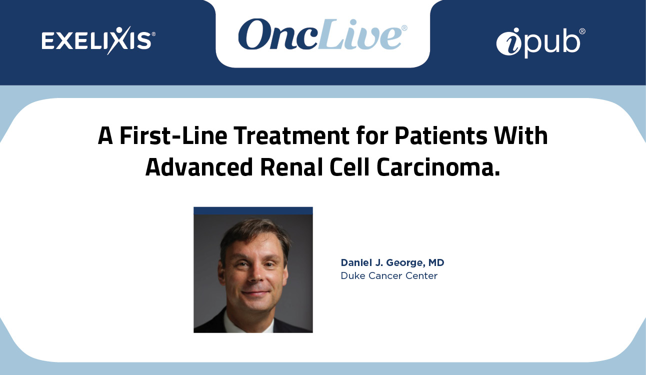 A First-Line Treatment for Patients With Advanced Renal Cell Carcinoma
