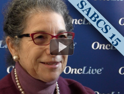Dr. Patricia Ganz on Anastrozole versus Tamoxifen Side Effects in DCIS Patients