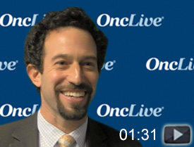 Dr. Goldman on the Use of Immunotherapy in Oncogene-Driven NSCLC