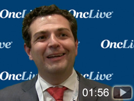 Dr. Haigentz on the Potential of Erlotinib and Bevacizumab in EGFR-Mutant NSCLC