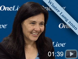 Dr. Wakelee on Immediate Therapy Options in Lung Cancer