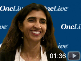 Dr. Iqbal on Second- and Third-Line Therapies in Gastric Cancer