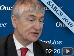 Dr. Robertson on Subgroup Analysis of the FALCON Trial for HR+ Breast Cancer