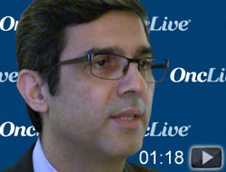 Dr. Jahanzeb on Challenges in Non-Driver Adenocarcinoma