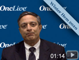 Dr. Lonial on High-Risk Patients With Smoldering Multiple Myeloma