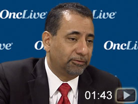 Dr. Raez on the Benefits of Liquid Biopsies in Newly Diagnosed Lung Cancer