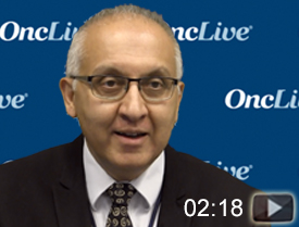 Dr. Mirza on Efficacy of Niraparib/Bevacizumab Combo in Recurrent Ovarian Cancer