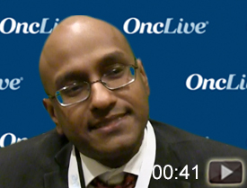 Dr. Mahipal on Molecular Markers in mCRC