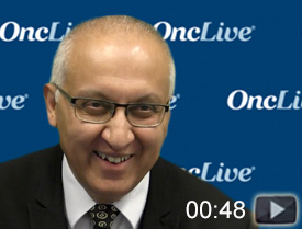 Dr. Mirza on the ENGOT-OV42-NSGO/AVANOVA-Triplet Trial in Recurrent Ovarian Cancer
