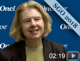Dr. Matulonis Discusses Niraparib/Pembrolizumab Combo in Platinum-Resistant Ovarian Cancer