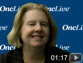 Dr. Matulonis on the Use of Immunotherapy in Recurrent Ovarian Cancer