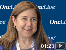 Dr. Michaelis on Treating Patients With Myelofibrosis and Anemia