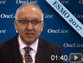 Dr. Mirza on Niraparib Plus Bevacizumab Combo in Ovarian Cancer
