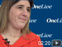 Dr. Moore on the Results of the NOVA Trial in Ovarian Cancer