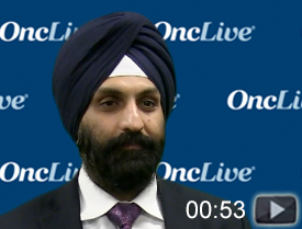 Dr. Singh on Potential Implications of the IMvigor130 Trial in Bladder Cancer
