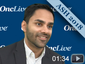 Dr. Patel on Induction Therapy With Bendamustine and Rituximab in MCL