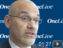 Dr. Uzzo on Potential of Adjuvant Therapy in Patients With RCC
