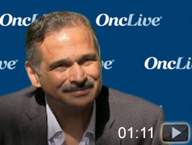 Dr. Gadgeel on the Utility of Liquid Biopsies in Lung Cancer