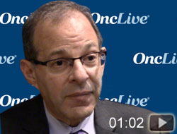 Dr. Sznol on Immunotherapy in Patients With RCC