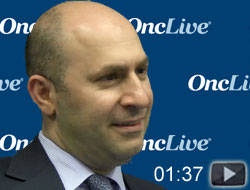 Dr. Choueiri on Avelumab Plus Axitinib in mRCC