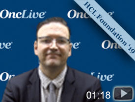 Dr. Taylor on Ongoing Phase II Trial of Frontline Vemurafenib Combo in Hairy Cell Leukemia