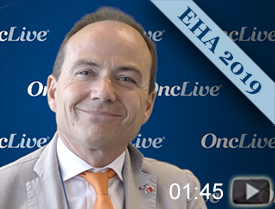 Dr. Tiacci on Vemurafenib in Combination With Rituximab in Hairy Cell Leukemia