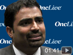 Dr. Velcheti on Potential of Alectinib in Frontline ALK-Positive NSCLC