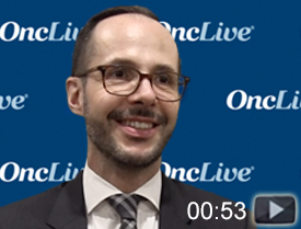 Dr. Villa on Induction Therapy With Bendamustine/Rituximab in MCL