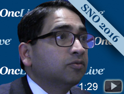 Dr. Abida on Choosing Between Chemotherapy and Targeted Agents for Patients With  Prostate Cancer