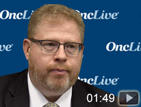Dr. Rosenberg Discusses Enfortumab Vedotin in Urothelial Carcinoma