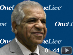 Dr. Chandra Belani on Atezolizumab in NSCLC