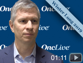 Dr. Decker on Current Role of Radiation in NSCLC