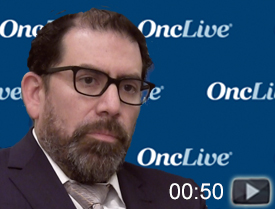 Dr. Diaz on Response Rates for MSI-H and NTRK Fusions in GI Cancer
