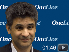 Dr. Fizazi Discusses Updated Data With Darolutamide in CRPC