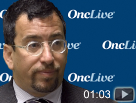 Dr. Garon on Immunotherapy in Stage III Unresectable NSCLC