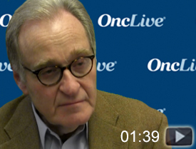 Dr. Gordon on Chemotherapy-Free Regimens in Follicular Lymphoma