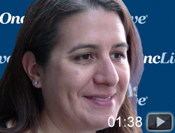 Dr. Stephanie Goff on Low-Dose Chemotherapy with CAR T-Cells in Advanced Lymphoma