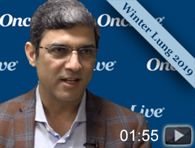 Dr. Jahanzeb on Eligibility Criteria for Immunotherapy Trials in NSCLC