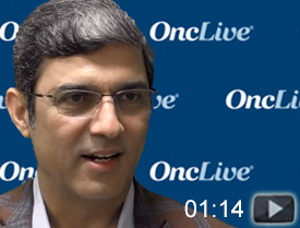 Dr. Jahanzeb on Immunotherapy in Oncogene-Driven NSCLC
